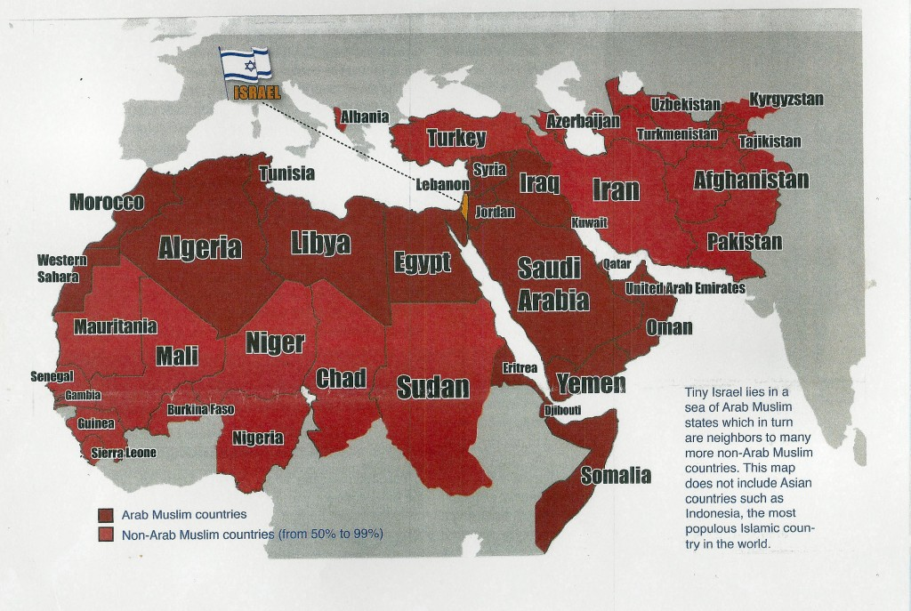 Tiny Israel and the Islamic Goliath